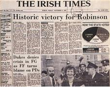 The Irish Times, 9 November 1990