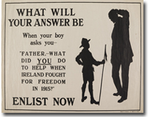 WWI recruitment poster [1914-1915] (WAR/1914-18/14).
