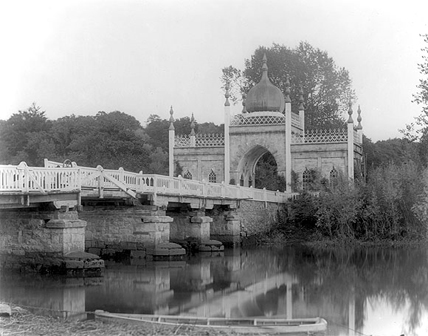 Moorish Bridge on Blackwater, Dromana, Co. Waterford, c.1890 (PI 592).