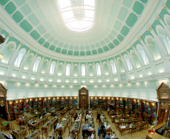 Main Building, Reading Room
