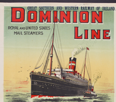 Dominion Line advertisement. NLI Ref: EPH E36