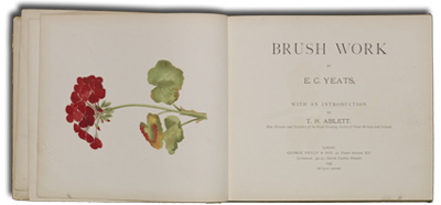 """Brush Work"" by EC Yeats, London, 1896 (LO 4508)."