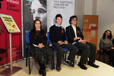Poetry Aloud Winners 2014