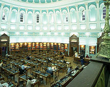 National library reading room